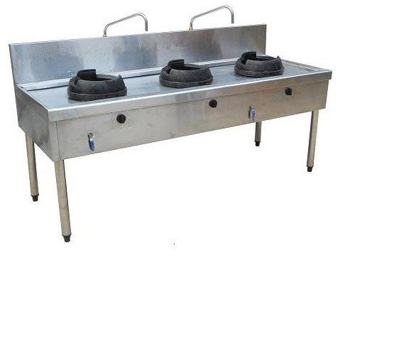 Bếp á inox công nghiệp Hải MInh HM 0210