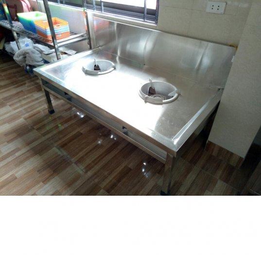 Bếp á inox công nghiệp Hải MInh HM 026