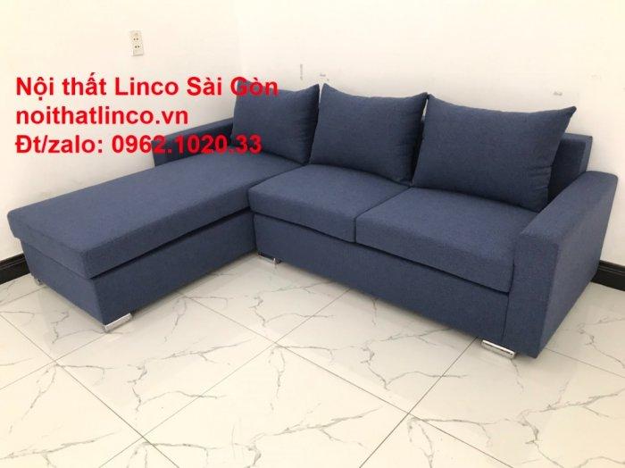 Sofa góc L giá rẻ | Salong góc chữ L 2m2 đẹp hiện đại Nội thất Linco Sài Gòn10