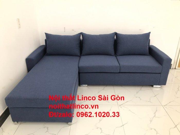 Sofa góc L giá rẻ | Salong góc chữ L 2m2 đẹp hiện đại Nội thất Linco Sài Gòn9