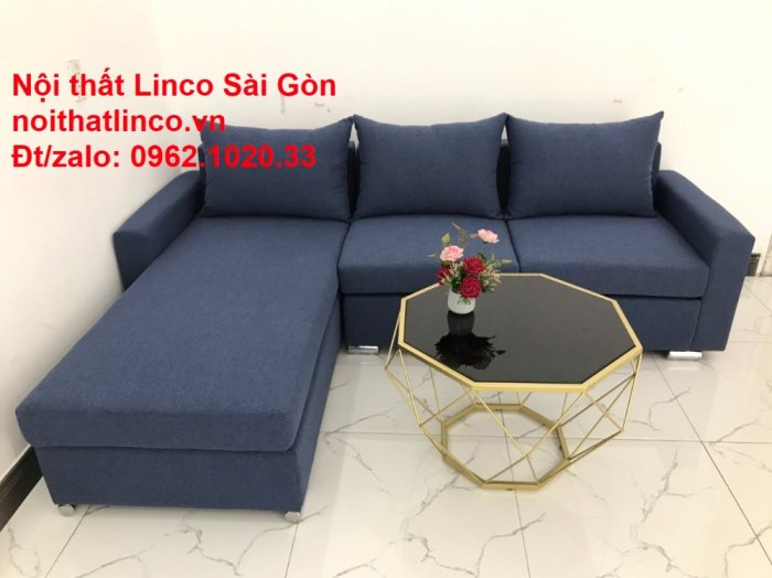 Sofa góc L giá rẻ | Salong góc chữ L 2m2 đẹp hiện đại Nội thất Linco Sài Gòn7
