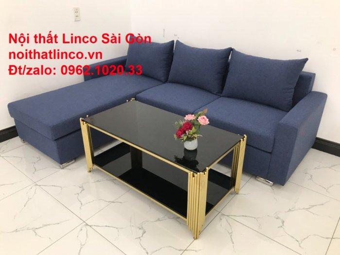 Sofa góc L giá rẻ | Salong góc chữ L 2m2 đẹp hiện đại Nội thất Linco Sài Gòn6