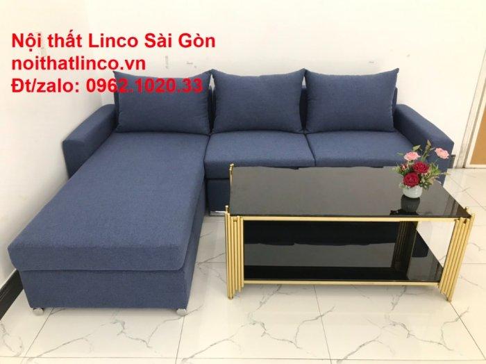 Sofa góc L giá rẻ | Salong góc chữ L 2m2 đẹp hiện đại Nội thất Linco Sài Gòn5