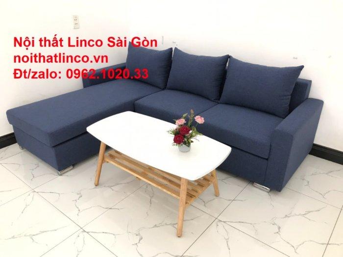 Sofa góc L giá rẻ | Salong góc chữ L 2m2 đẹp hiện đại Nội thất Linco Sài Gòn4