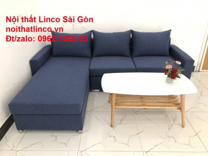 Sofa góc L giá rẻ | Salong góc chữ L 2m2 đẹp hiện đại Nội thất Linco Sài Gòn3