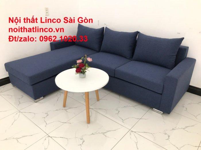Sofa góc L giá rẻ | Salong góc chữ L 2m2 đẹp hiện đại Nội thất Linco Sài Gòn2