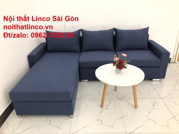 Sofa góc L giá rẻ | Salong góc chữ L 2m2 đẹp hiện đại Nội thất Linco Sài Gòn1