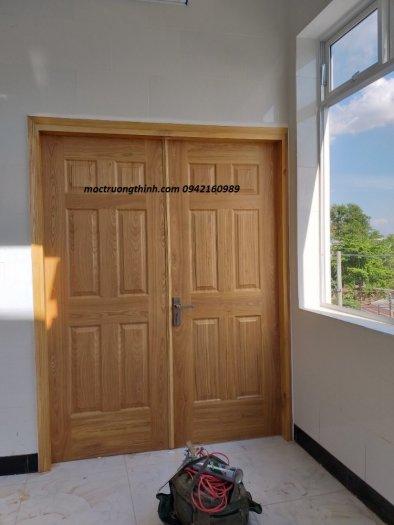 Cửa gỗ công nghiệp HDF Veneer0