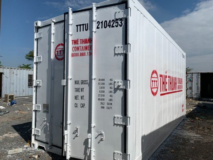 Container lạnh 20feet cao 2.9m Thế Thanh2