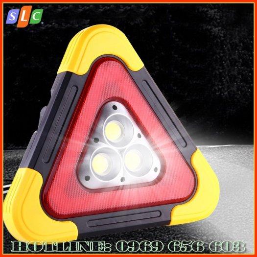 Biển tam giác phản quang cảnh báo nguy hiểm cho ô tô dùng năng lượng mặt trời với nhiều chế độ nháy sáng3