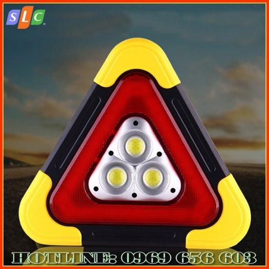Biển tam giác phản quang cảnh báo nguy hiểm cho ô tô dùng năng lượng mặt trời với nhiều chế độ nháy sáng1