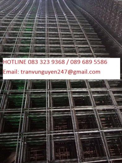 Lưới thép hàn mạ kẽm dạng cuộn, lưới thép làm giàn cây1