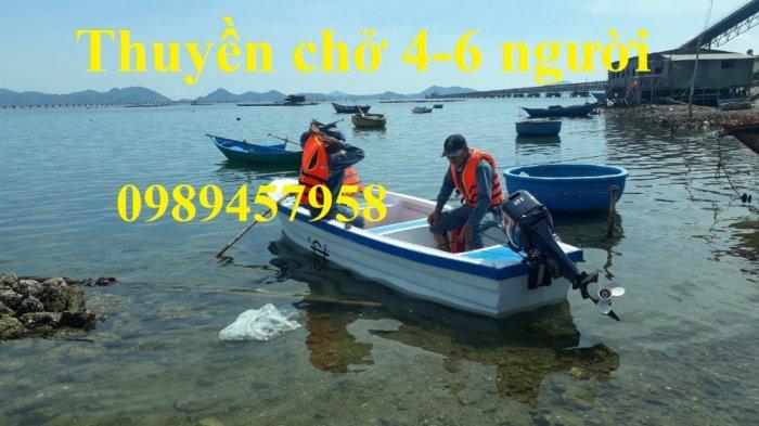 Vỏ thuyền chèo tay, Thuyền composite, Xuồng chở 3-4 người,15