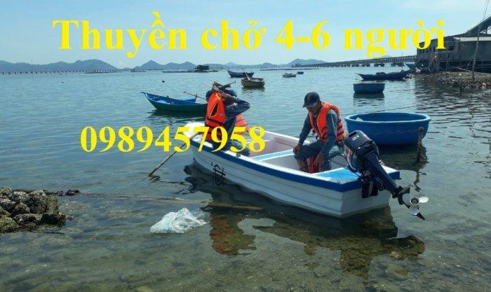 Vỏ thuyền chèo tay, Thuyền composite, Xuồng chở 3-4 người,10