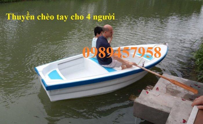 Vỏ thuyền chèo tay, Thuyền composite, Xuồng chở 3-4 người,9