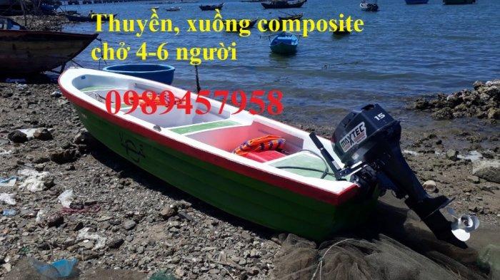 Vỏ thuyền chèo tay, Thuyền composite, Xuồng chở 3-4 người,8