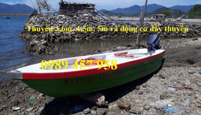 Vỏ thuyền chèo tay, Thuyền composite, Xuồng chở 3-4 người,7