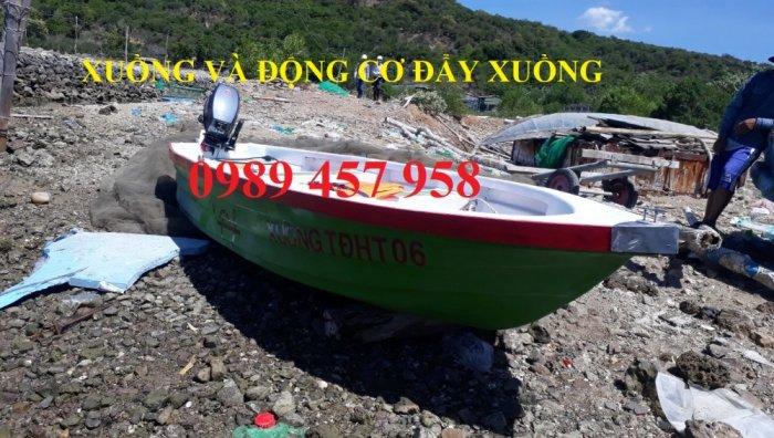 Vỏ thuyền chèo tay, Thuyền composite, Xuồng chở 3-4 người,6
