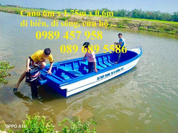Vỏ thuyền chèo tay, Thuyền composite, Xuồng chở 3-4 người,2