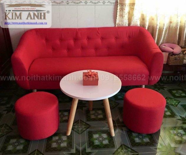 Ghế sofa băng bọc vải cho phòng khách chung cư nhỏ tại bình dương13