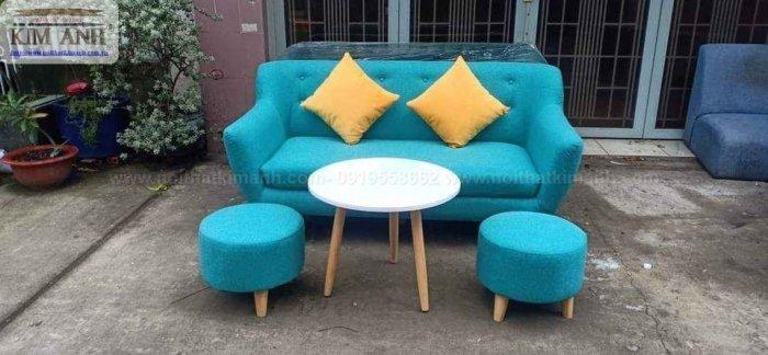 Ghế sofa băng bọc vải cho phòng khách chung cư nhỏ tại bình dương12
