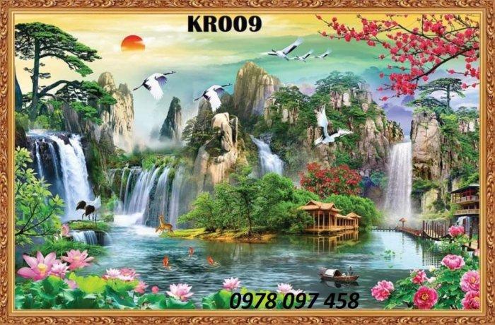 Tranh phong cảnh thiên nhiên - tranh gạch men1