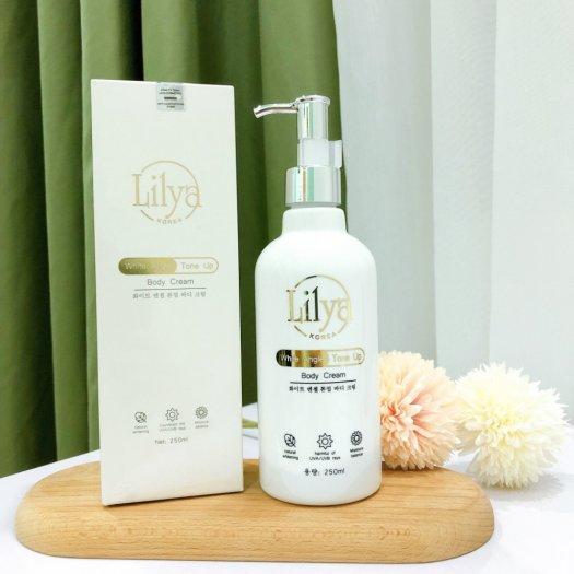 Kem dưỡng thể trắng da toàn thân Lilya – White Angle Tone Up Body Cream5