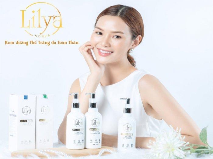 Kem dưỡng thể trắng da toàn thân Lilya – White Angle Tone Up Body Cream4