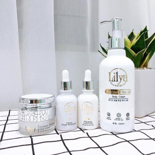 Kem dưỡng thể trắng da toàn thân Lilya – White Angle Tone Up Body Cream1