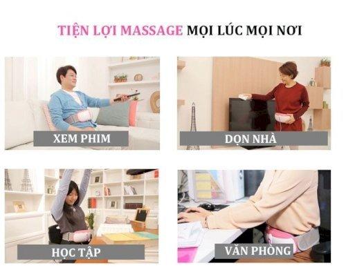 Đai massage giảm béo cao cấp bằng tia hồng ngoại Ayosun Hàn Quốc1