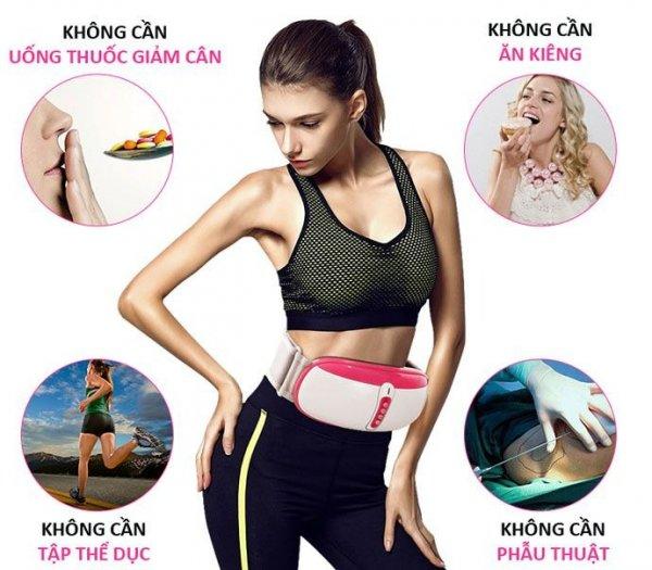 Đai massage giảm béo cao cấp bằng tia hồng ngoại Ayosun Hàn Quốc0