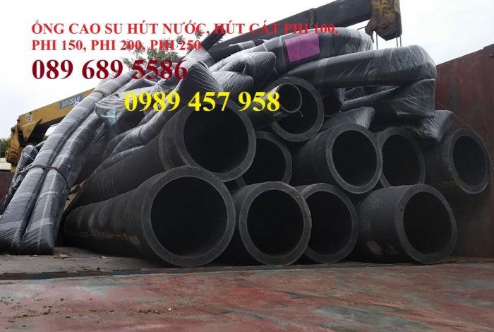Ống rồng, ống cao su lõi thép hút cát, ống cao su chuyên dụng phi 120, phi 150,  phi 170, phi 2005