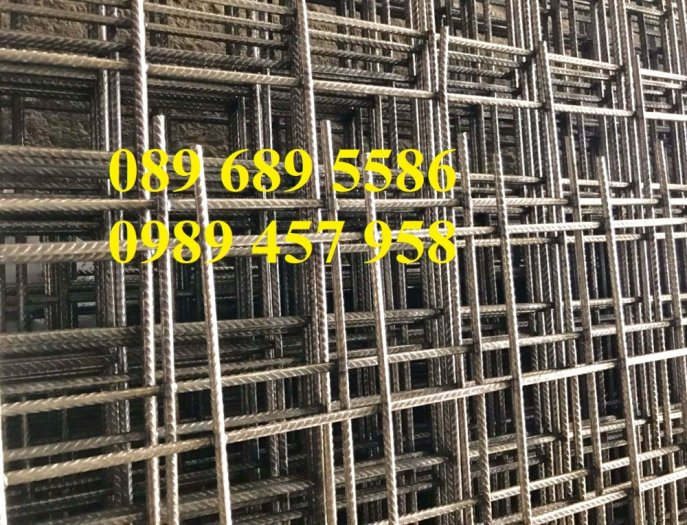 Lưới thép đổ bê tông phi 5, Lưới thép hàn phi 6 và lưới thép phi 4 có sẵn0