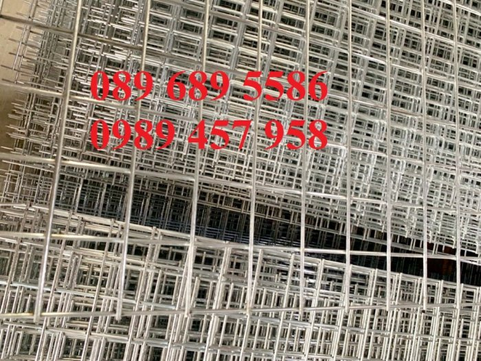Lưới mạ kẽm dây 1ly ô 10x10, Lưới inox ô 10x10, Lưới thép dây 1,5ly ô 15x15, Thép 2ly ô 25x2512