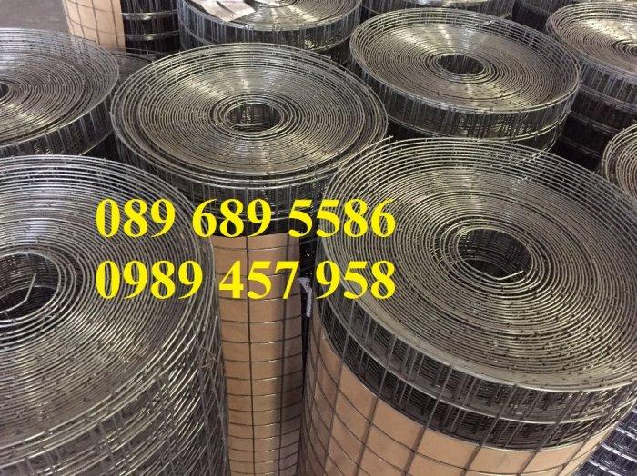 Bán lưới thép hàn bọc nhựa, Lưới thép D2 25x25, D3 50x50, D4 ô 100x100, Lưới đổ sàn10