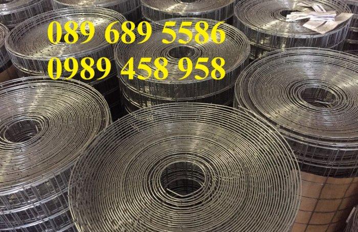 Bán lưới thép hàn bọc nhựa, Lưới thép D2 25x25, D3 50x50, D4 ô 100x100, Lưới đổ sàn9