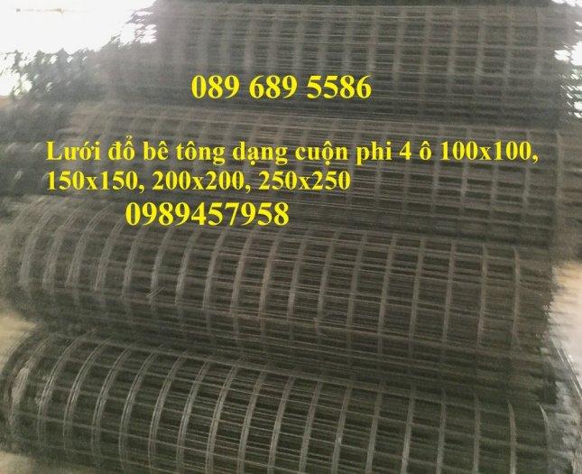 Bán lưới thép hàn bọc nhựa, Lưới thép D2 25x25, D3 50x50, D4 ô 100x100, Lưới đổ sàn6