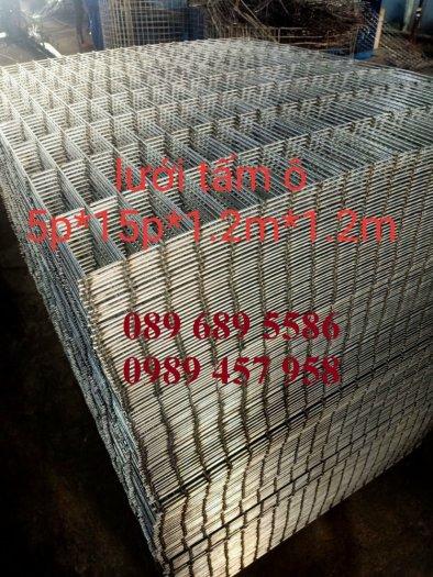 Bán lưới thép hàn bọc nhựa, Lưới thép D2 25x25, D3 50x50, D4 ô 100x100, Lưới đổ sàn0