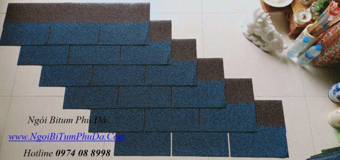 Tấm lợp giấy dầu giả đá dán mái bê tông, mái hình cầu, bungalow8