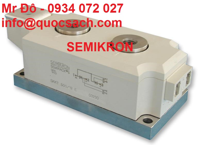 Công suất điện Semikron - Cầu chỉnh lưu thyristors Semikron1
