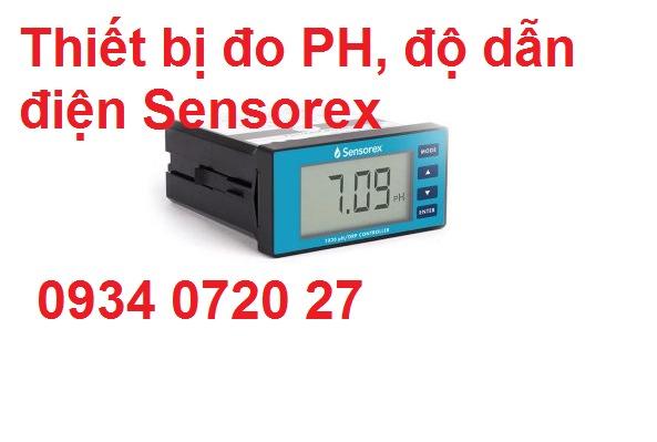 Nhà phân phối Sensorex thiết bị đo PH tại Việt Nam2