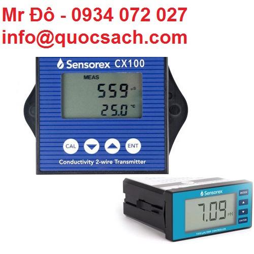 Nhà phân phối Sensorex thiết bị đo PH tại Việt Nam0