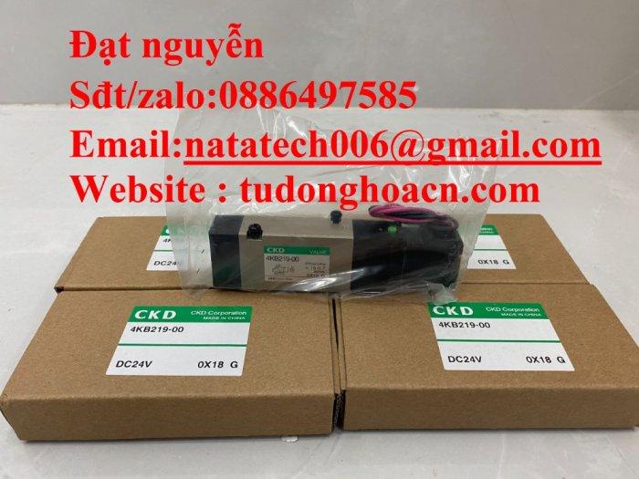 Van điện từ 4KB219-00 CKD chính hãng mới 100%3