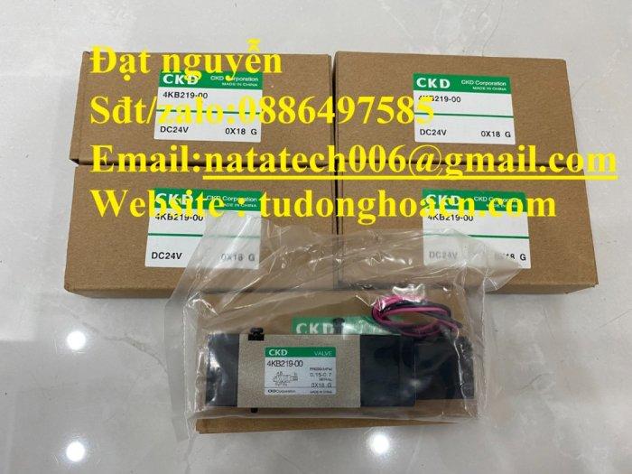 Van điện từ 4KB219-00 CKD chính hãng mới 100%2