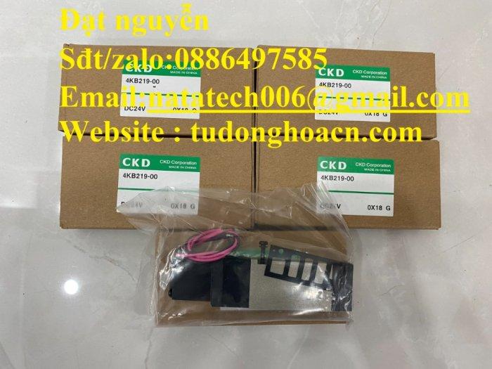 Van điện từ 4KB219-00 CKD chính hãng mới 100%1