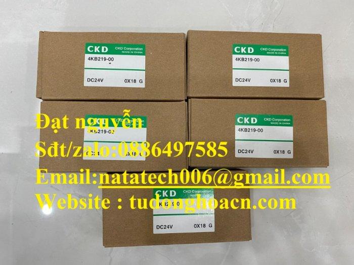 Van điện từ 4KB219-00 CKD chính hãng mới 100%0