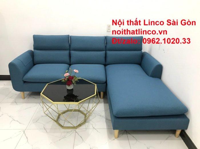Ghế sofa góc   salon góc L xanh dương giá rẻ đẹp   Sofa phòng khách Linco Đồng Nai7