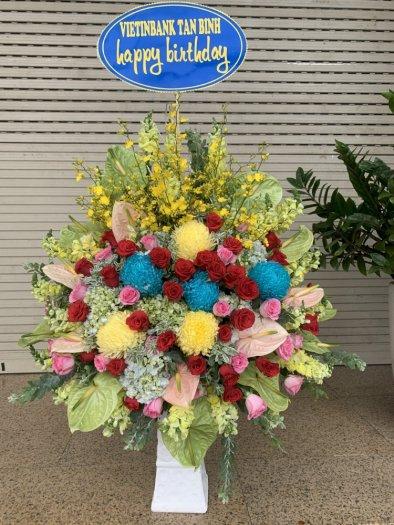 Bình hoa chúc mừng sinh nhật - LDNK010