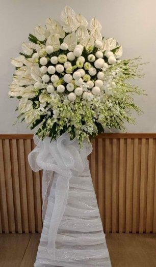 Lẵng hoa chia buồn viếng đám tang - LDNK190