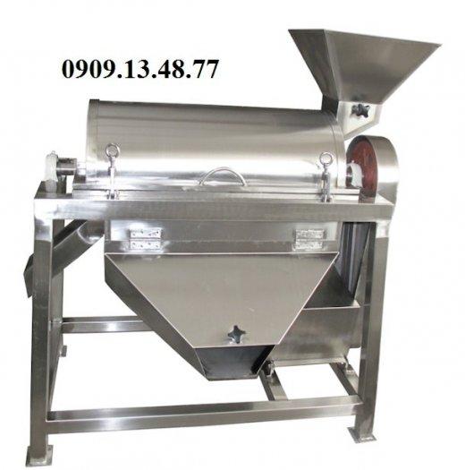 Máy chà quả cà chua, máy chà cà chua làm tương, máy chà quả tự động 500kg,0